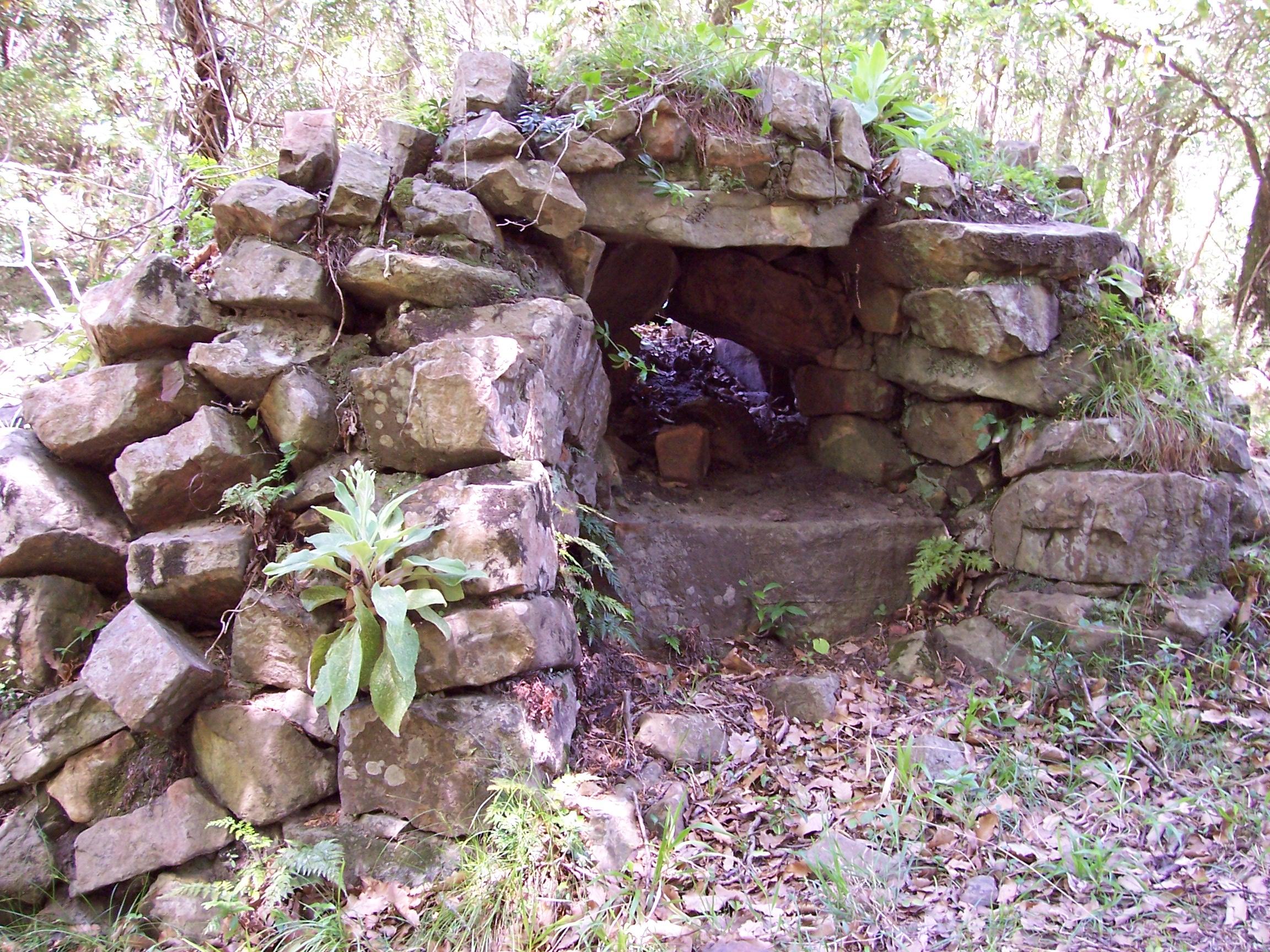 Los moriscos las viviendas tradicionales en los - Horno de piedra ...