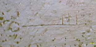 24.Autor.Jose María de la Osa. Marca recogida en la Iglesia de la Magdalena (s.XII) en Tudela, Navarra.